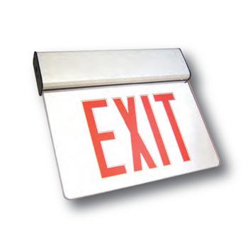 AL ALEX Aluminum LED Exit Sign Edgelit